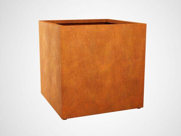 Donica Corten Metalowa Ogrodowa Cubo5 A - cortena.pl